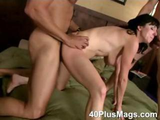 double drilled older whore