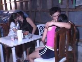 3 asians loving lengthy time