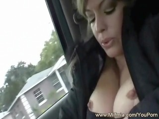 Back Seat Squirting and Pounding
