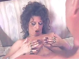 older brunnette acquires drilled