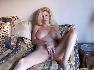 charming golden-haired d like to fuck enjoys a