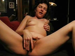 bushy masturbation squirt on sofa (by edquiss)