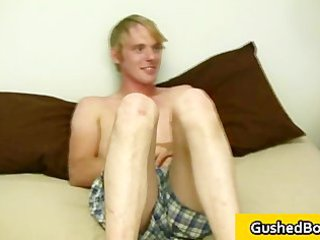 cory receives his hard pecker played with toy