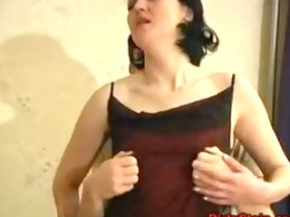older wife drilled by youthful chap