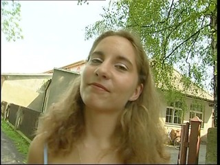 shy german non-professional lets us watch her body