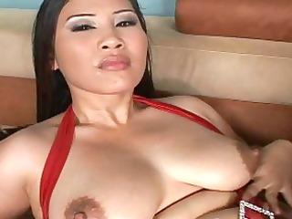 breasty oriental bitches in hardcore titjob
