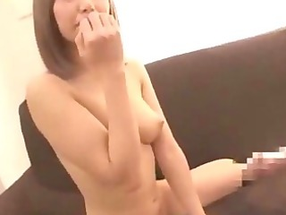 oriental hotty in nylons getting her fur pie