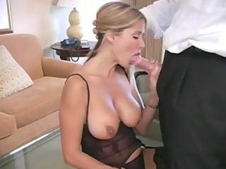 hawt blonde orders room service
