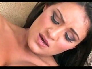 hot pornstar takes cum on her melons