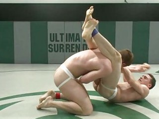 youthful homosexual boyz wrestle for anal