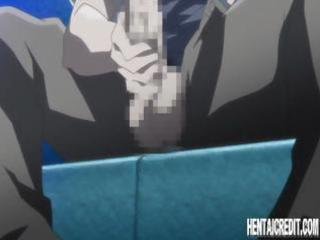 stacked anime honey washing herself in the shower