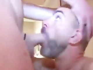 hung hunk raw copulates and breeds aged lad