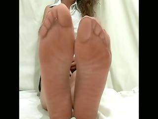 priceless angel with nylon feet