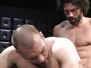 curly stud remy delaine making out with his buddy