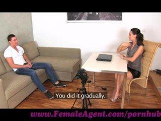femaleagent. youthful fellow hopeless for work
