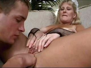 mature maid lynn ross copulates younger fellow