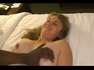 aged wife acquires drilled