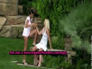 jenny and debby breathtaking lesbian angels