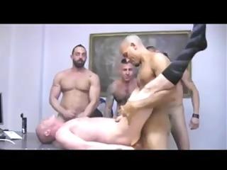 bareback orgy double penetration