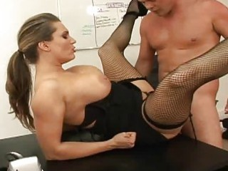 massive love bubbles boss fucking her