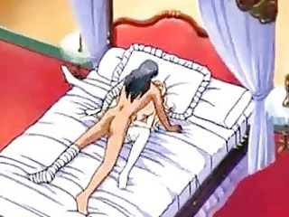 breasty countess getting drilled on the daybed