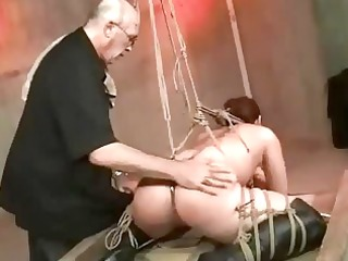 shibari rope servitude and drubbing