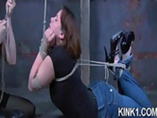 Wild Nose Bondage Shot