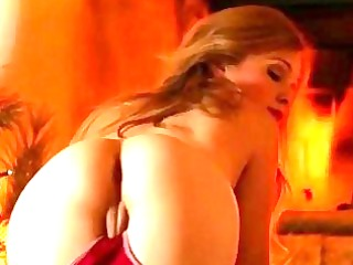 super hawt blond alaina fox solo scene