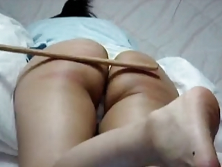 oriental caned over pillow