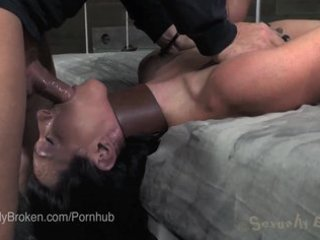 tiny redhead jessi palmer passed back and forth