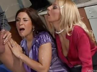 nasty milfs in hawt peeing some scene!