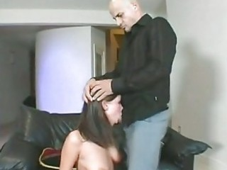 haley paige takes a hard wang slapping in her