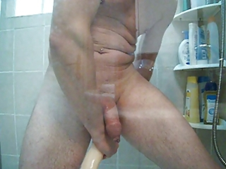 enema in the shower and large double dick in my