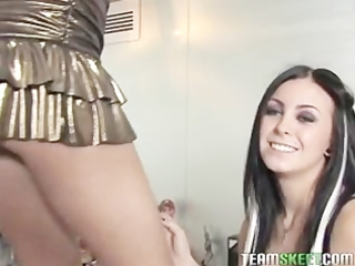 babes jackie daniels and alexia skye sharing one