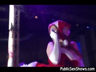 mrs santa claus stripper getting wicked