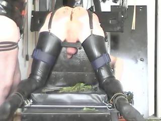 mistresses castigation bench pt 1