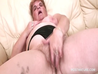 big beautiful woman slutty aged working her bushy