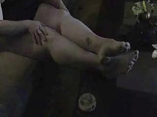 big beautiful woman showing legs