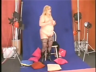 large glamorous woman mature french