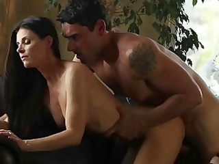 hawt cougar india summer doggy drilled