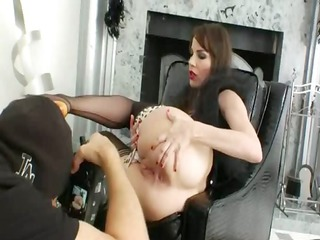 shooting of incredible anal glamour