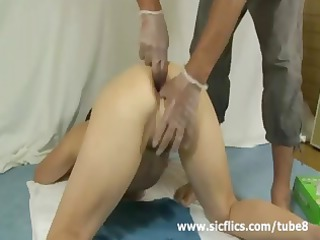 brutally anal fisted and bottle screwed barefaced