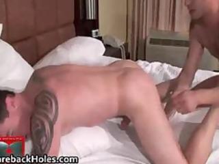 bizarre homosexual bareback fucking and ramrod