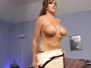 sexy mother bailey creamed by younger guy