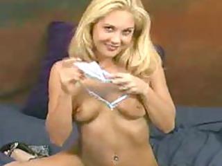 violet aka jessie - excited blond squirter bonks