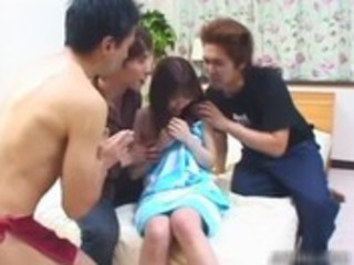shy japanese legal age teenager hotty acquires