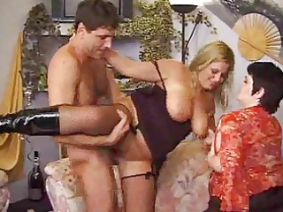 mature honeys with one younger jock