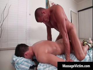 sexy and lustful man receives the massage part6