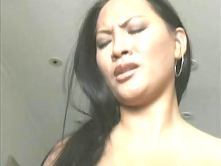 oriental cutie on sybian