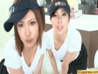 oriental school angel acquire gangbanged hard